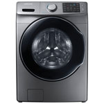Samsung 5.2 Cu. Ft. High Efficiency Front Load Steam Washer (WF45M5500AP) - Platinum