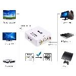 UniLink (TM) Mini Composite RCA CVBS AV To HDMI Converter Adapter For VCR DVD 720P 1080P