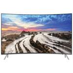 "Samsung 55"" 4K UHD HDR Curved LED Tizen Smart TV (UN55MU8500FXZC) - Grey"