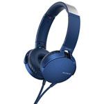 Casque d'écoute avec microphone de Sony (MDRXB550AP/L) - Bleu