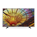 "LG 65"" Class (64.5"" Diag.) 4K Ultra HD Smart LED LCD TV 65UH615A / 65UH6150- Refurbished"