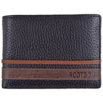 Roots 73 Seeker Leather Bifold Wallet - Black