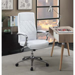Picket House Atkins Executive Office Chair - White