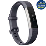 Fitbit Alta HR Fitness Tracker with Heart Rate Monitor - Small - Blue/Grey - Only at Best Buy