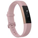 Moniteur d'activité et de fréquence cardiaque Alta HR de Fitbit - Petit - Rose