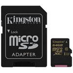 Kingston Gold 64GB 90MB/s MicroSD Class 3 UHS-I Memory Card