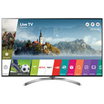 "LG 55"" 4K UHD HDR LED webOS 3.5 Smart TV (55SJ8500) - Silver"