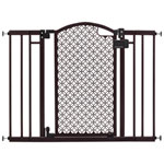 Summer Infant Modern Home Hardware Mounted Safety Gate - Brown