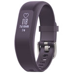 Garmin vivosmart 3 Fitness Tracker with Heart Rate Monitor - Medium - Purple