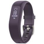 Moniteur d'activité et de fréquence cardiaque vívosmart 3 de Garmin - Moyen - Violet
