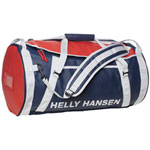 Helly Hansen 50L Water Resistant Duffle Bag - Blue/Red/White