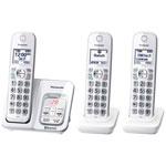 Téléphone sans fil 3 combinés DECT 6.0 Plus Bluetooth Link2Cell à répondeur de Panasonic (KXTGD593W)