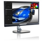 "Philips 28"" 4K UHD 60 Hz 1 ms GTG W-LED Gaming Monitor - (288P6LJEB/27)"