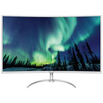 "Philips 40"" 4K UHD 60Hz 4ms Curved VA LED Monitor (BDM4037UW) - Silver/White"