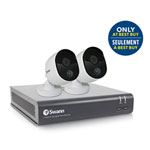 Swann Wired 4-CH 1TB DVR 2 Bullet 1080P Cameras - Only at Best Buy