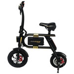 Swagtron SwagCycle Electric Bike - Black