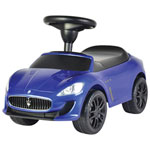 Jouet porteur Maserati Grand Cabrio de Kids Preferred - Bleu