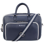 "Ben Sherman Bowen Road 15"" Laptop Bag - Navy/White"