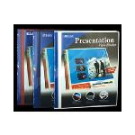 Bulk Savings 311387 Bazic.5 Poly 3-Ring Presentation View Binder- Case of 48