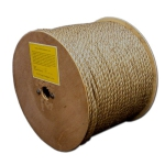 T.W. Evans Cordage 25-001 .25 in. x 600 ft. Pure Number 1 Manila Rope Reel