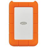 LaCie Rugged 1TB Mini USB-C Portable External Hard Drive for PC/Mac (STFR1000400) - Orange