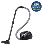 Samsung VC3100 Bagless Canister Vaccum - Dark Titan - Only at Best Buy