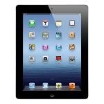 iPad 4 Wifi + 4G Unlocked Retina Display 9.7 in 4th Generation 32GB Black, Refurbished