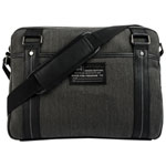 "Buffalo Robinson 15.6"" Laptop Messenger Bag - Denim Black"