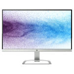 "HP 21.5"" FHD 60 Hz 7 ms GTG LED Monitor - Silver, White - (T3M72AA#ABA)"
