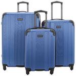Kenneth Cole Reaction Gramercy 3-Piece Hard Side Luggage Set - Cobalt