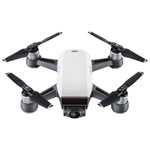 DJI Spark Quadcopter Drone with Camera - Ready-to-Fly - White