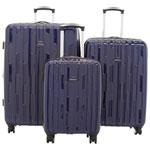 Ensemble de 3 valises rigides Xion de Samsonite - Bleu marine