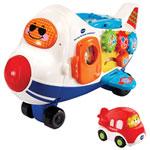 VTech Go! Go! Smart Wheels - Racing Runway Airplane - English