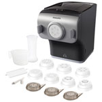 Philips Pasta Maker with Integrated Scale - 2 Cup - Black