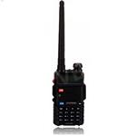 Portable Radio Walkie Talkie UV-5R Baofeng for CB radio vhf uhf dual band 136-174 400-520MHZ - Black