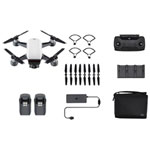 DJI Spark Quadcopter Drone with Camera Ready-to-Fly Bundle - White