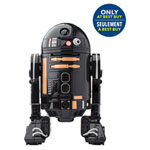 Droïde commandé par application Star Wars R2-Q5 de Sphero (RQ01FCA) - Noir - Gris