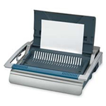Fellowes Mfg. Co. FEL5218201 Manual Comb Binding Machine- 20-.88in.x17-.75in.x6-.50in.- Gray