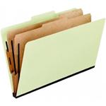 Pendaflex 03602 Classification Folder T3 Green Pack Of 5