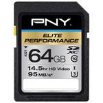PNY Elite Performance 64GB 95MB/s SDXC Memory Card