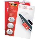 Fellowes FEL52016 Laminating PouchesPunched2.63 in. x 3.88100-PKCL