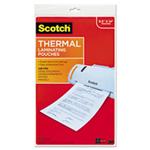 3M MMMTP385520 3 ml Scotch Laminating Pouches Clear - 11 x 17