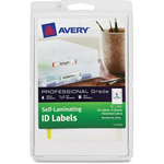 Avery Handwrite Only Self-laminating ID Labels