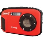 Coleman Elbc9Wpr Coleman 20.0 Megapixel Xtreme3 Hd And Video Waterproof Digital Camera (Red)