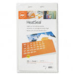 GBC Quartet 3200578 HeatSeal Laminating Pouches 3mm 9 x 14-1/2 25 Pack