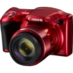 Canon 1069C001 PowerShot SX420 IS Digital Camera with 42x Optical Zoom & Built-In Wi-Fi Red