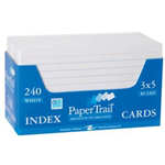 Roaring Spring Paper Products 28031 Trayed Index Cards - 36 Per Case
