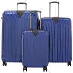 IT Luggage Excelsior 3-Piece Hard Side Expandable Luggage Set - Sapphire