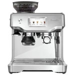 Breville Barista Touch Automatic Espresso Machine with Frother & Coffee Grinder - Silver