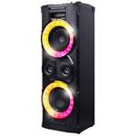Haut-parleur EncoreXL SP490BK de 400 W sans fil Bluetooth de 808 Audio avec microphone - Noir